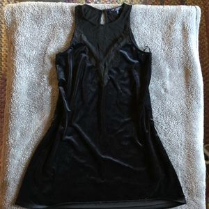 Dresses & Skirts - Velvet and mesh dress